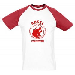 T-shirt coton bicolore adulte